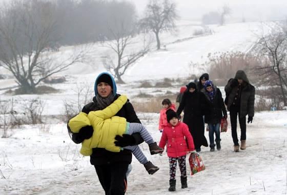 Gjermania dhe Austria mundësitë e vetme për refugjatët sirian në Serbi
