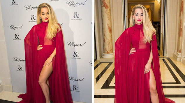 Rita Ora shkëlqen në darken e Ralph & Russo