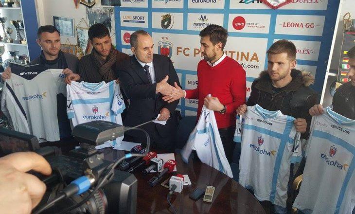 Prishtina me pesë përforcime synon titullin e kampionit