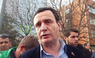 Albin Kurti: Nuk marrë leje nga ky pushtet (Video)