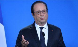 Hollande: Assadi po vret popullin e tij me ndihmën e Rusisë