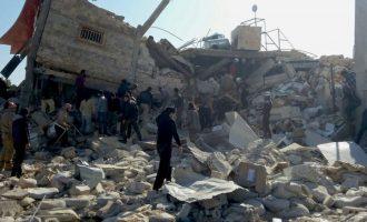 """Fuqitë e NATO-s e akuzojnë Rusinë për """"krime lufte"""" në Siri"""