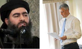Udhëheqësi i ISIS-it – letër Hashim Thaçit