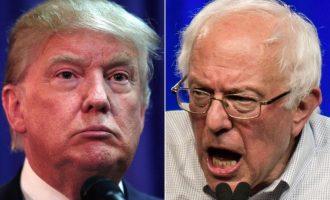 Trump, Sanders fitues në New Hampshire