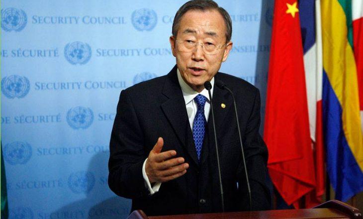 Ban Ki-moon shpreson që Trump të mos i mbajë premtimet