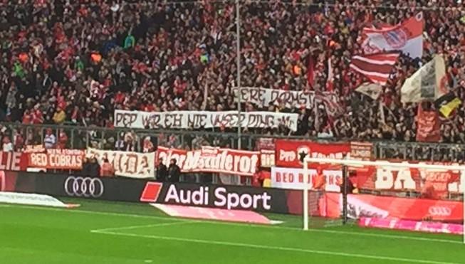 Tifozët e Bayern: Pep nuk është për ne