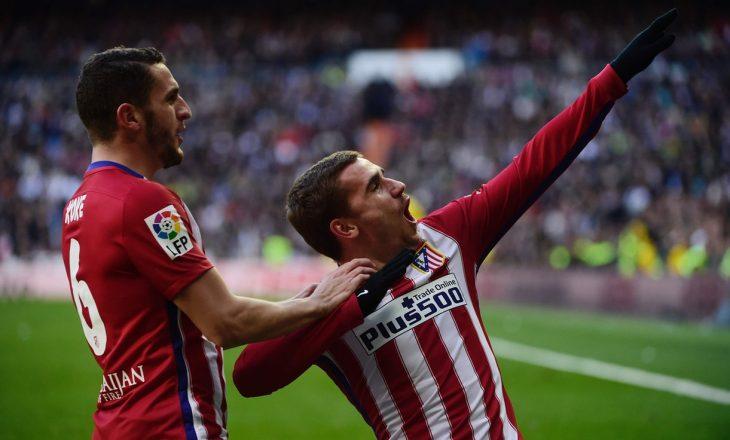 Atletiko Madridi fiton derbin madrilen