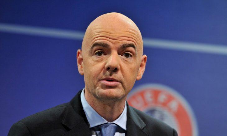 Infantino pasardhës i Blatterit në krye të FIFA-s