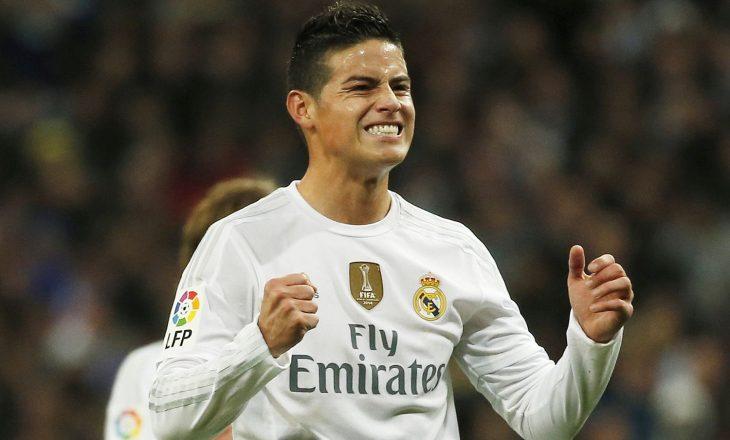 James Rodriguez drejt Manchester Unitedit