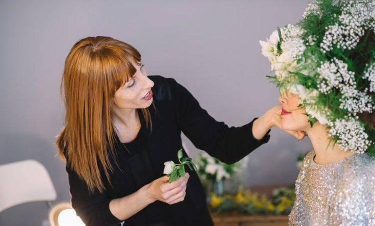 Krijon bizhuteri me bimë natyrale