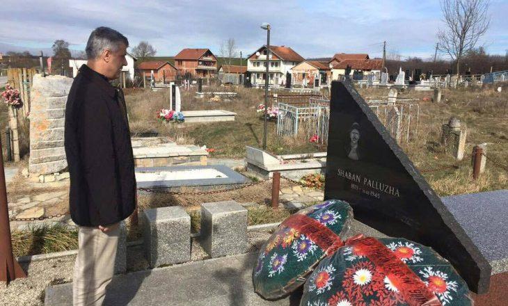 Thaçi kujton Shaban Polluzhen