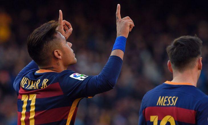 Neymar refuzoi 40 milionë euro në vit vetëm të qëndrojë tek Barcelona