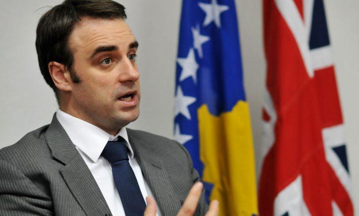 Thirrja e ambasadorit britanik kundër partive kriminale të Kosovës