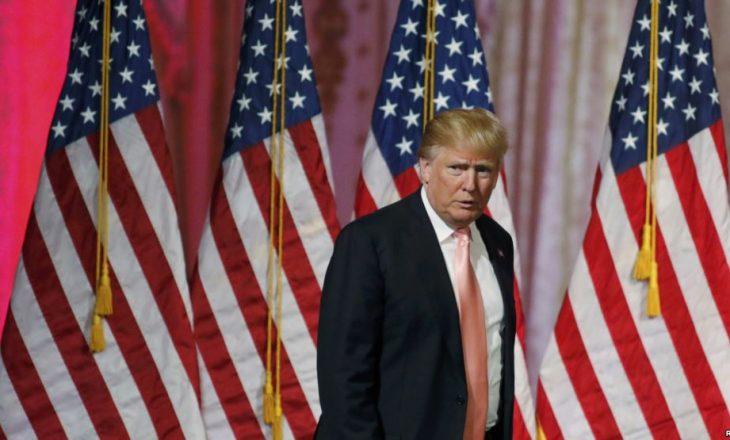 """Trump thotë se shpreson se Clinton """"do të jetë mirë së shpejti"""""""