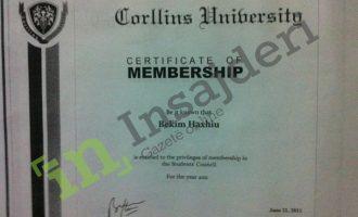 Hetimi i tretur i ngritjes akademike të doktor Kamishit