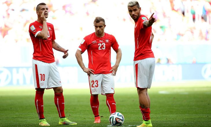 Lista zyrtare e Zvicrës me pesë futbollistë shqiptarë