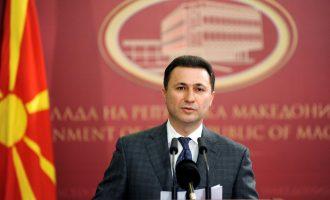 Gruevski: Sela me deklaratat e tij ka nxitur tensionet në vend