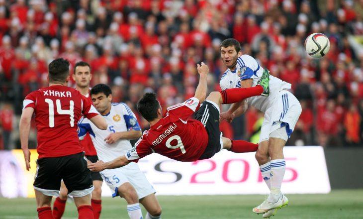 Maqedonia barazon rezultatin ndaj Shqipërisë