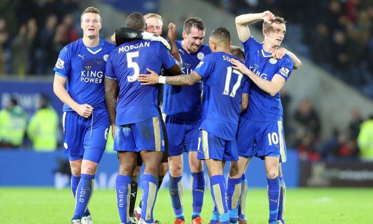 Leicester kalon në epërsi ndaj Sevillas [video]