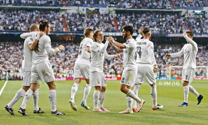 Formacionet zyrtare: Napoli – Real Madrid dhe Arsenal – Bayern