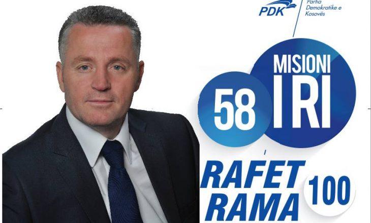 """Rafet Rama shkel ligjin për deputetët, vazhdon afërsinë me """"Capital"""""""