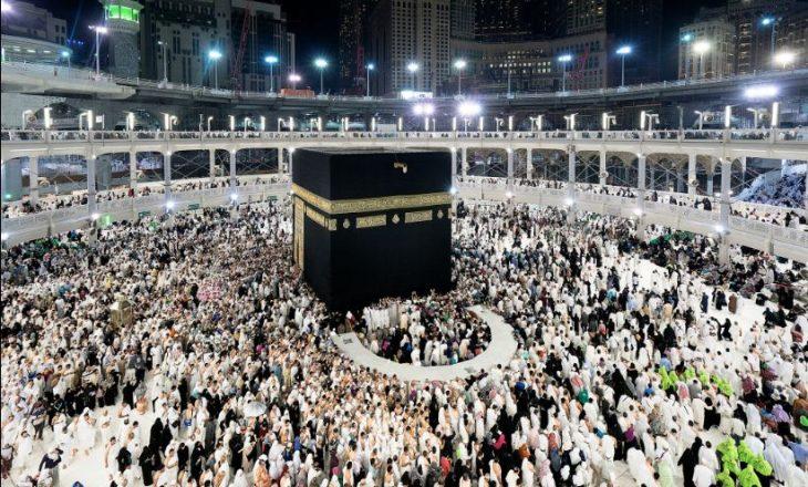 Mbi 1.5 milion besimtarë fillojnë pelegrinazhin e Haxhit