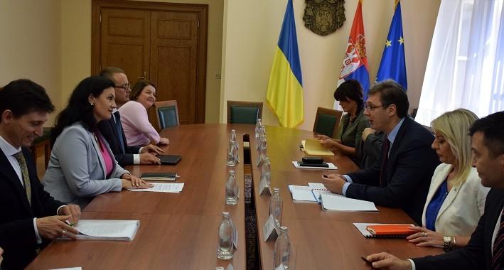 Ukraina siguron Serbinë se nuk do të njohë pavarësinë e  Kosovës