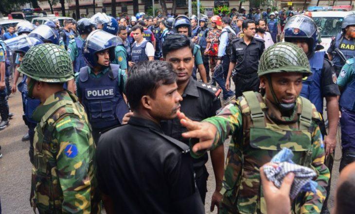 Vriten 9 militantë të dyshuar në Bangladesh
