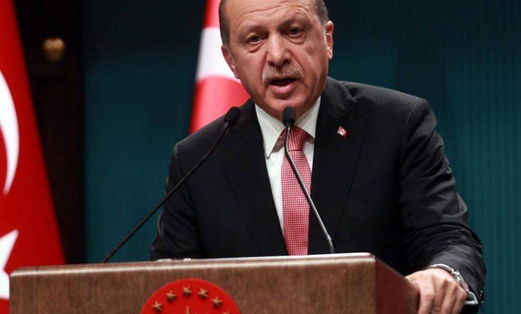 Erdogan: Evropa dhe Amerika t'i shikojnë punët e veta