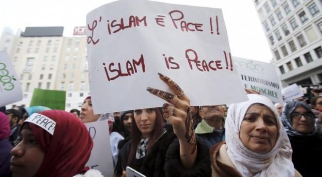 Myslimanët italianë të dielën në kisha