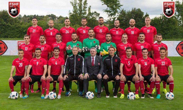 Shqipëria humb 3 vende në FIFA