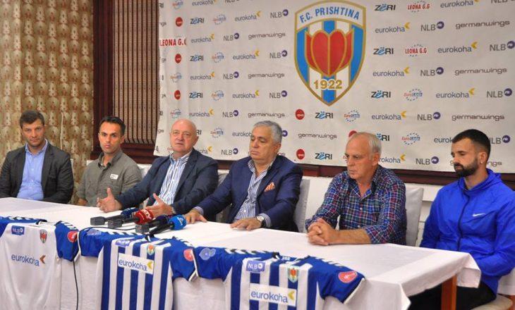 FC Prishtina mendon largimin nga garat e Kosovës