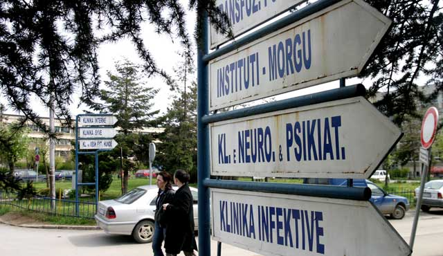 """Spitalet """"e infektuara"""" të Kosovës"""