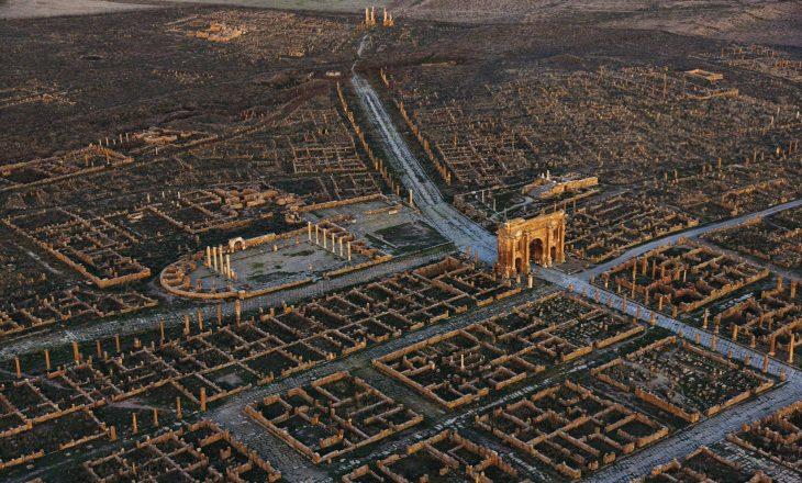 Qyteti i rrënuar 2000 vjeçar, me planimetri për t'u pasur zili sot