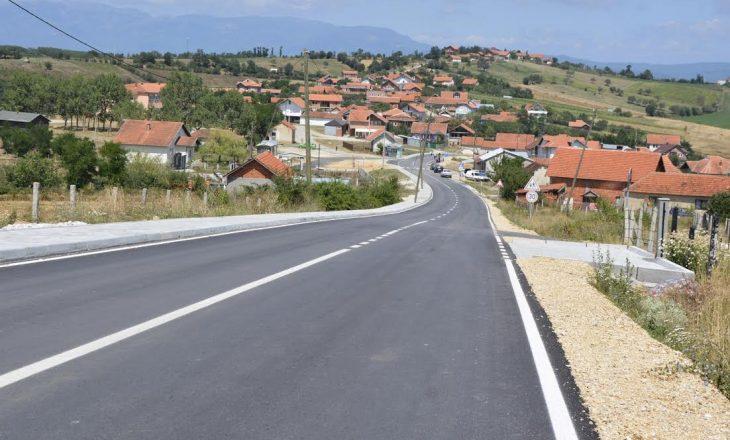 """Përurohet një """"rrugë evropiane"""" në Skenderaj"""