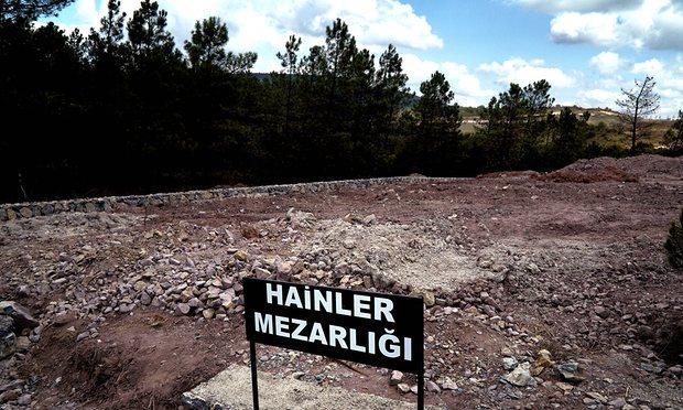 """Puçistët e vrarë në Turqi do të varrosen tek """"varrezat e tradhtarëve"""""""