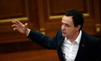 Kurti kritikon politikën në Kosovë, Shqipëri, Maqedoni dhe Francë