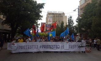 #Protestoj distancohet nga protestuesit anarkistë