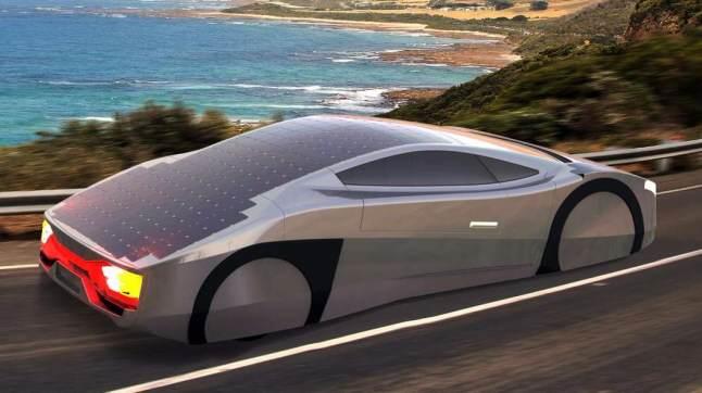 Makina me energji diellore