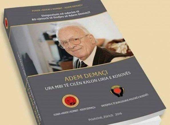"""""""Adem Demaçi-Ura mbi të cilën kalon liria e Kosovës"""""""