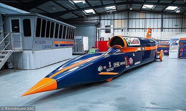 Makina përmes së cilës synohet të thyhet rekordi botëror i shpejtësisë