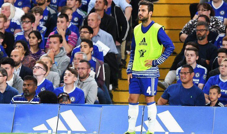 Fabregas pranon se është në situatë të vështire tek Chelsea