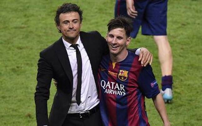 Luis Enrique: Messi zgjedhë vetë kur dhe sa luan