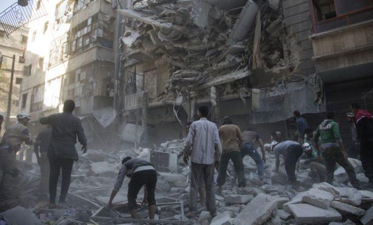 Sulmet ajrore godasin qytetin e Alepos