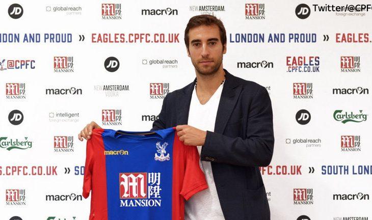 Ish-mesfushori i Arsenalit nënshkruan për Crystal Palace
