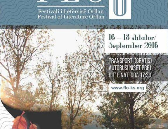 Nesër fillon Festivalit ndërkombëtar i Letërsisë në Orllan