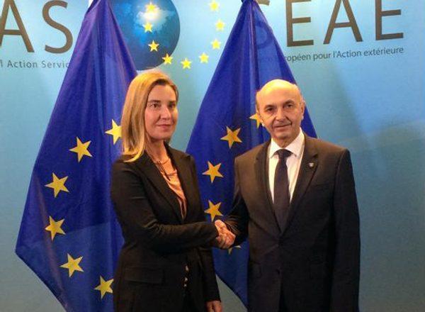 Mustafa: Mogherini e Tusk më konfirmuan përkrahjen e BE-së për viza