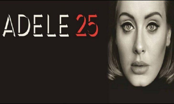 Adele me shitje rekorde të albumit të fundit
