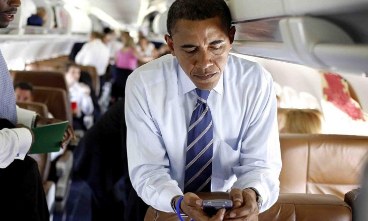 """""""BlackBerry"""" ka lajm të keq për Barack Obaman"""