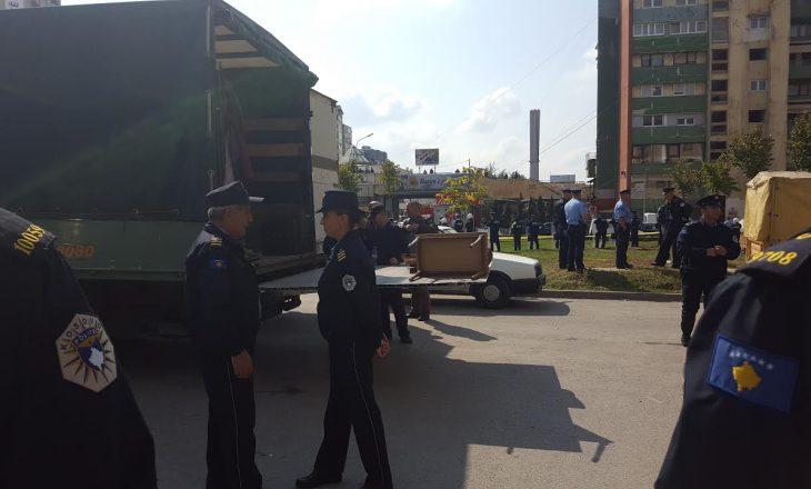 """Policia sqaron veprimin për largimin e banorëve në """"Dardani"""""""